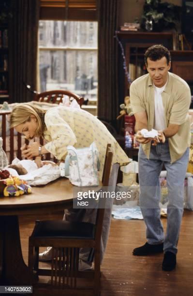 "Coming Home"" Episode 1 -- Pictured: Carter Madison Gayle as Mabel Buchman, Helen Hunt as Jamie Stemple Buchman, Paul Reiser as Paul Buchman -- Photo..."