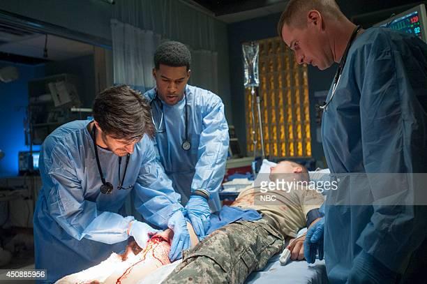 SHIFT 'Coming Home' Episode 105 Pictured Eoin Macken as Dr TC Callahan JR Lemon as Kenny Brendan Fehr as Drew