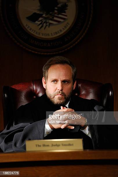 LEGAL 'Coming Home' Episode 7 Pictured Peter Macnicol as Judge Smollet
