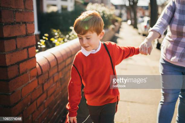 coming home from school - education stock pictures, royalty-free photos & images