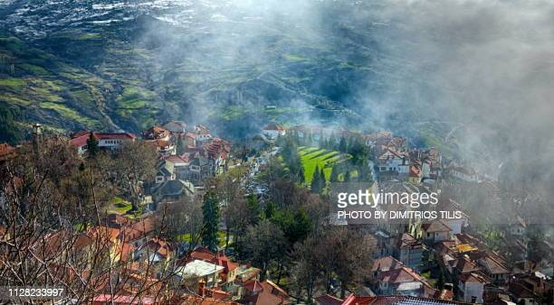 Coming mist at Metsovo