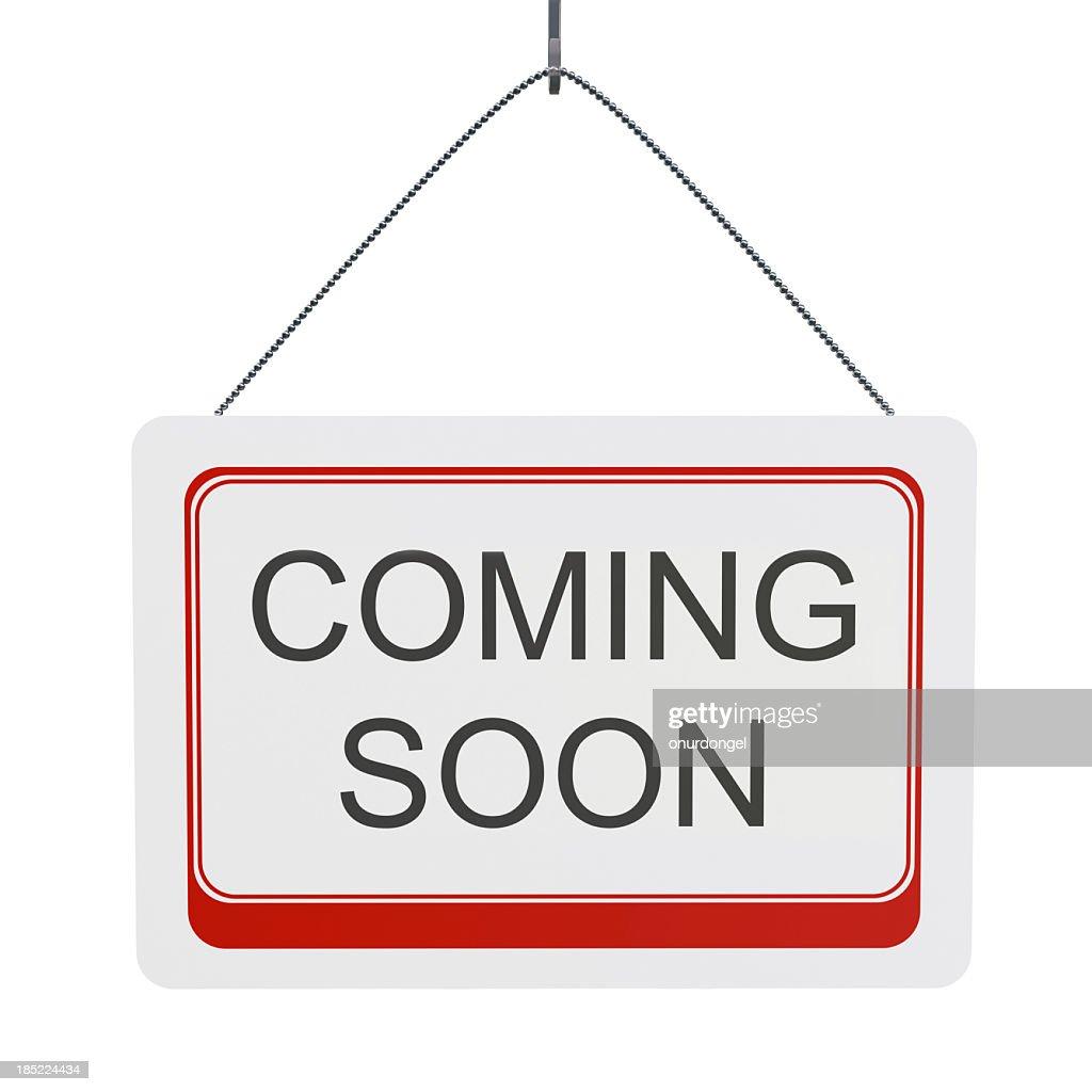 Coming Soon : Stock Photo