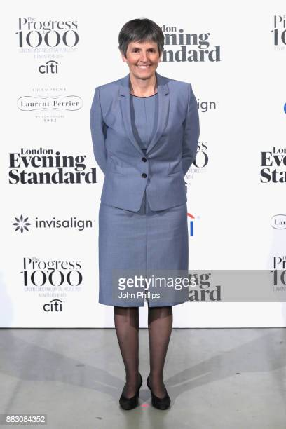 Comissioner of the Met Police Cressida Dick attends London Evening Standard's Progress 1000 London's Most Influential People event at on October 19...