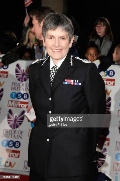 Comissioner of the Met Police Cressida Dick attends the Pride Of Britain Awards at Grosvenor House on October 30 2017 in London England