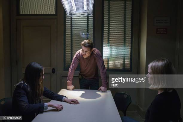 JUSTICE 'Comma' Episode 112 Pictured Cathryn Dylan as Abigail Chapman Jon Seda as Antonio Dawson Joelle Carter as Laura Nagel