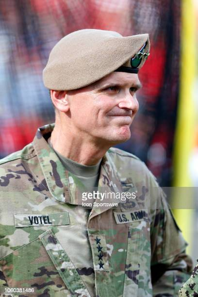 Commander General Joseph L Votel the Commanding General of US Special Operations Command MacDill Air Force Base Florida watches the action during the...