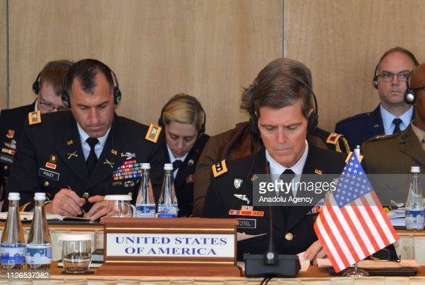 Commander General Joseph Votel attends a meeting on Security and Stability in Central Asia with Chiefs of Staff of Pakistan Kazakhstan Afghanistan...