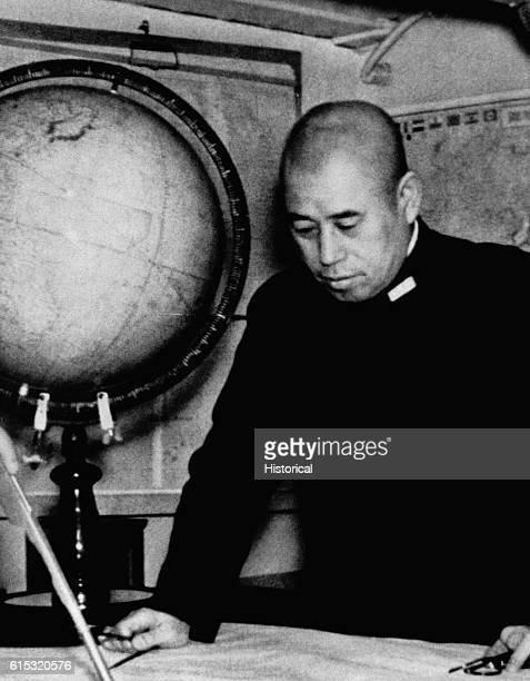Commander in chief of Japan's Combined Fleet in World War II
