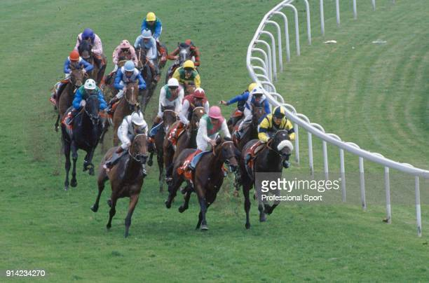 Commander in Chief with Michael Kinane aboard enroute to winning the Epsom Derby on 2nd June 1993.