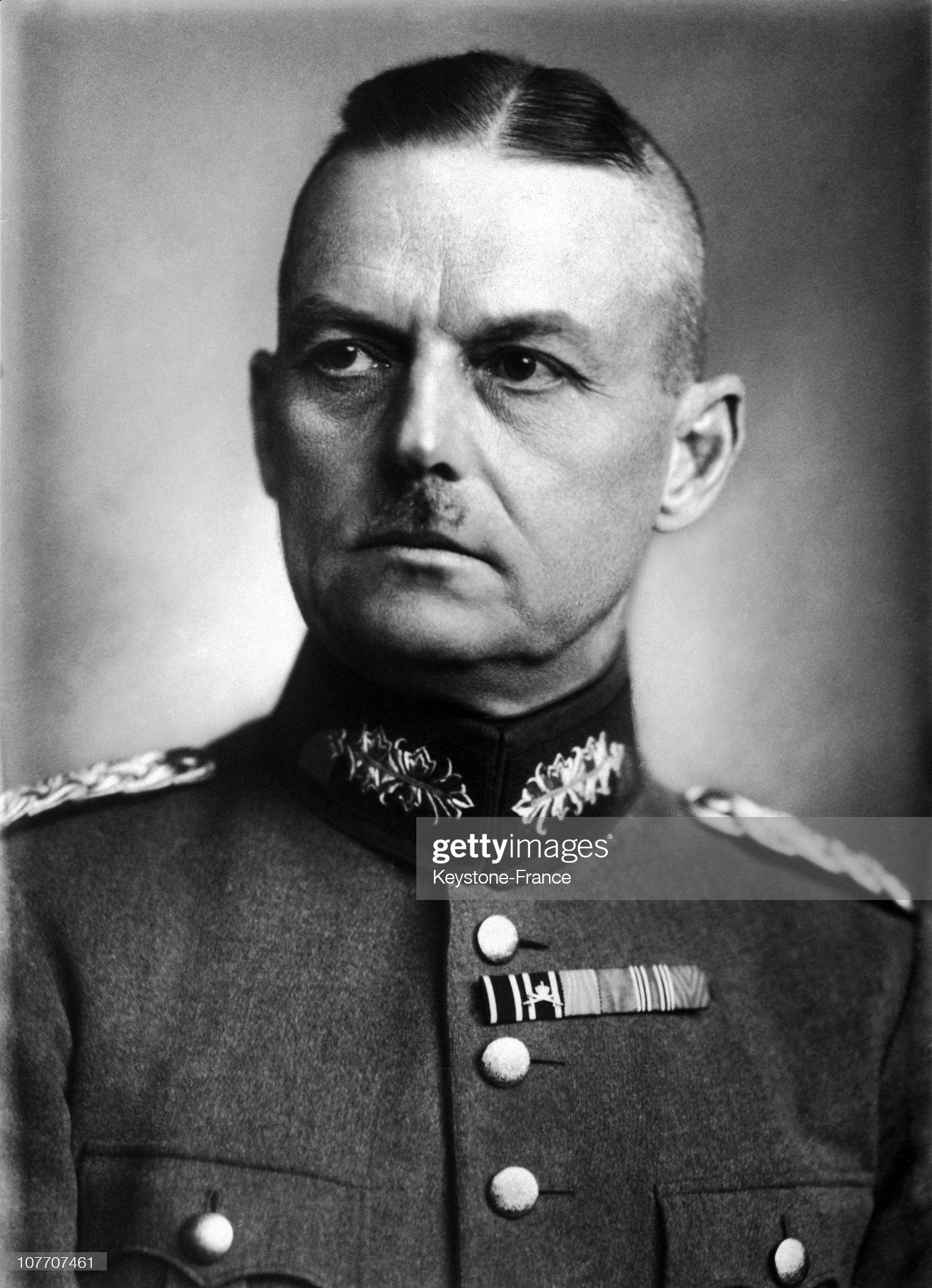Gerd Von Rundstedt 1931 : Nachrichtenfoto