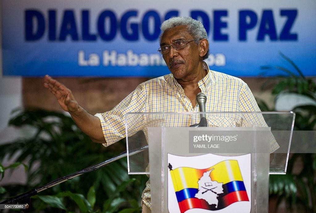 CUBA-COLOMBIA-FARC-PEACE TALKS : News Photo