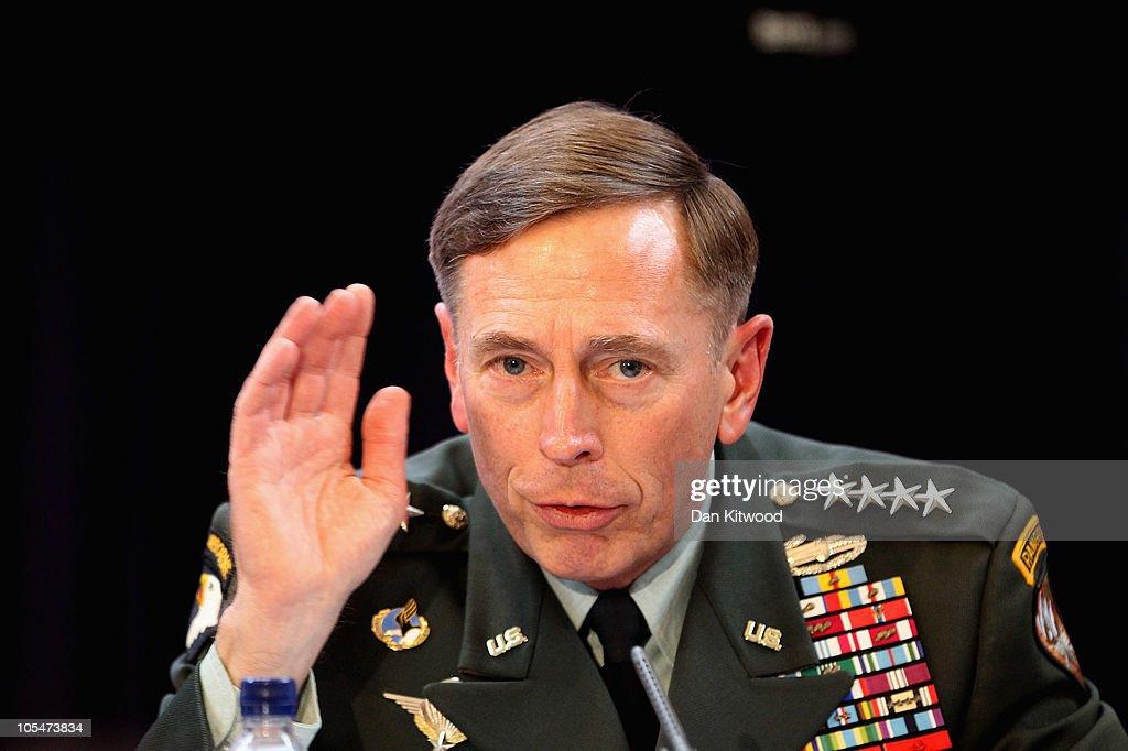 General Petraeus & Ambassador Sedwill Address RUSI Members