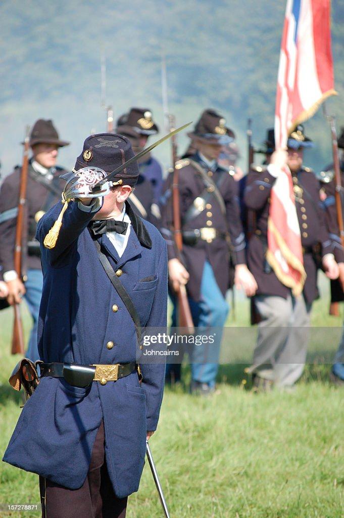 Commander. : Stock Photo