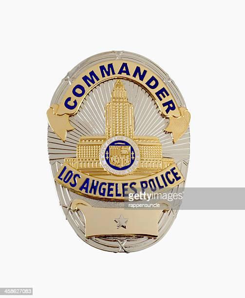 LAPD Commander's badge