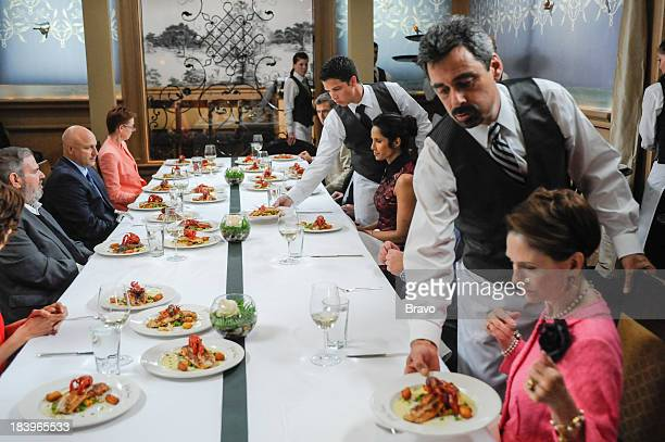 TOP CHEF Commander's Palace Episode 1103 PIctured Judges Paul Prudhomme Tom Colicchio Commander's Palace proprietor Ti Martin Hugh Acheson Padma...