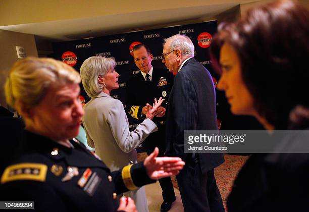 Commanding General of US Army Material Command General Ann Dunwoody Secretary of the US Department of Health and Human Services Kathleen Sebelius...