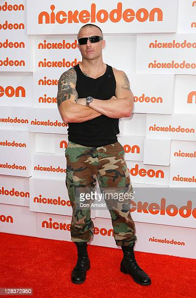 Commando arrives at the 2011 Nickelodeon Kid's Choice Awards at the Sydney Entertainment Centre on October 7, 2011 in Sydney, Australia.