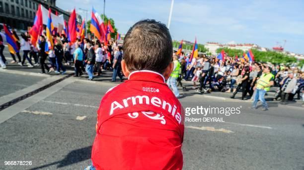 Comme chaque année la communauté arménienne de la ville demande à la Turquie la reconnaissance officielle du génocide dont a été victime son peuple...