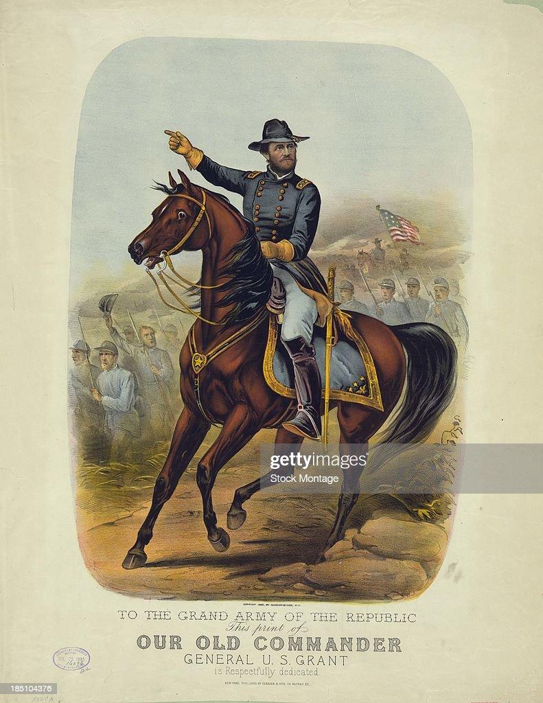 Ulysses S. Grant In Uniform : News Photo