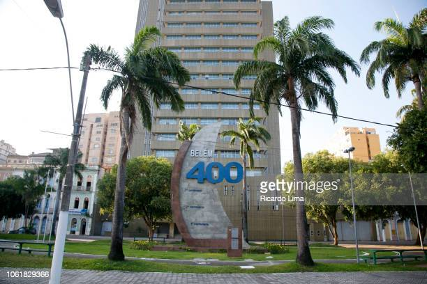 Commemorative Memorial To The 400 Years of The City Of Belem, Para State, Brazil