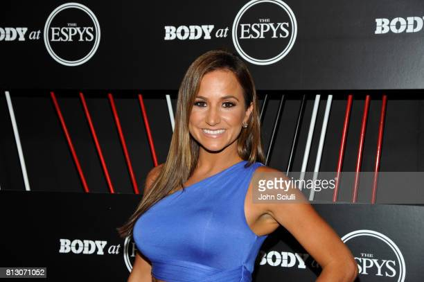 ESPN commenator Dianna Russini at BODY at ESPYS at Avalon on July 11 2017 in Hollywood California