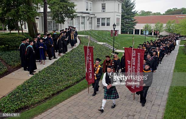 commencement ceremony at philadelphia university - basslabbers, bastiaan slabbers stock pictures, royalty-free photos & images