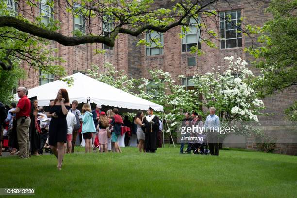 Commencement day at Cornell University