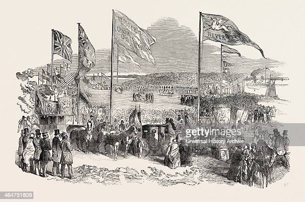 Commencement Of The Ontario Coe And Huron Railway By His Excellency The Earl Of Elgin
