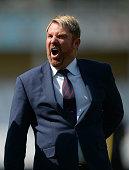 nottingham england commentator former cricketer shane
