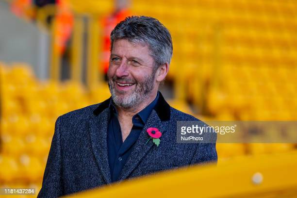 Commentator Andy Townsend ahead of the Premier League match between Wolverhampton Wanderers and Aston Villa at Molineux, Wolverhampton on Sunday 10th...