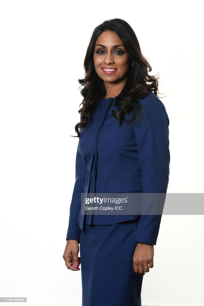 Commentators Portraits – ICC Cricket World Cup 2019 : News Photo