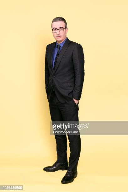 Commentator John Oliver is photographed for The Guardian Newspaper on February 4, 2019 in New York City.