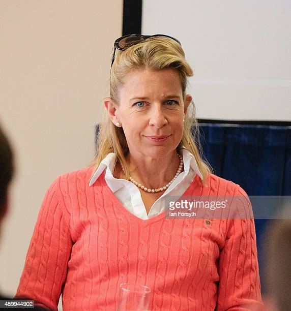 Commentator Katie Hopkins during the UK Independence Party annual conference where she spoke to a fringe group about electoral reform on September 25...