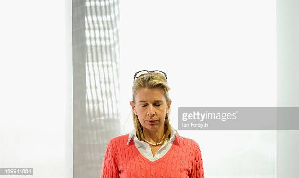 Commentator Katie Hopkins spoke to a fringe group about electoral reform during the UK Independence Party annual conference on September 25 2015 in...