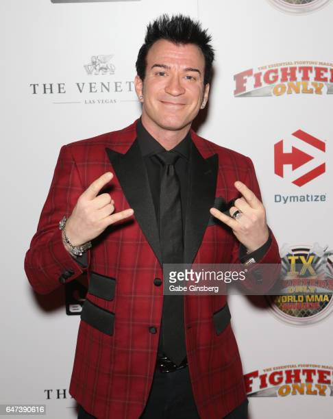 Commentator Robin Black attends the ninth annual Fighters Only World Mixed Martial Arts Awards at The Palazzo Las Vegas on March 2 2017 in Las Vegas...