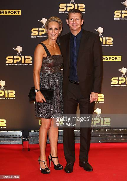 Commentator Steve Cram and Allison Curbishley attend the BBC Sports Personality of the Year Awards at ExCeL on December 16 2012 in London England