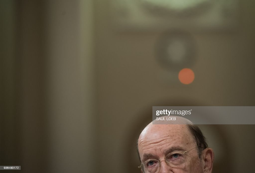 Commerce Secretary Wilbur Ross Testifies To House Committee On Recent Trade Actions By Trump Administration