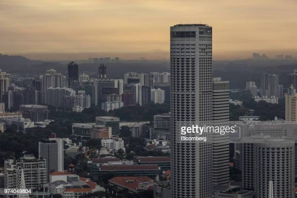 Commercial and residential buildings stand in Singapore on Wednesday June 13 2018 Tourism as well as the consumer sector will likely see a lift...