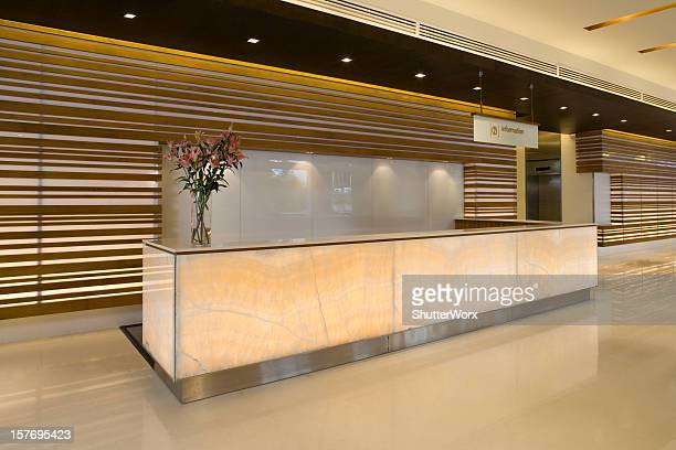 Commercial Building Lobby And Reception Counter