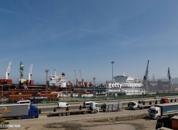 Commercial Dock By Sea