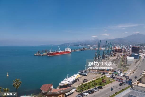Commercial dock in Batumi
