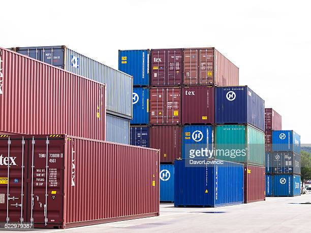 commercial dock - koper stock photos and pictures