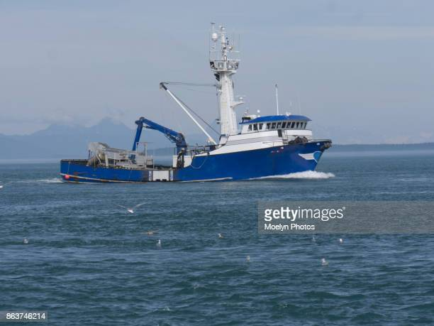 Commercial Fishing Boat - Icy Strait