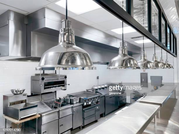 commercial kitchen - equipment stock pictures, royalty-free photos & images