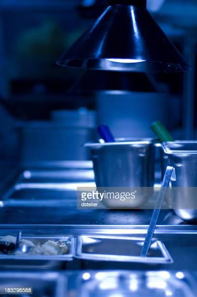 Commercial Kitchen Scene