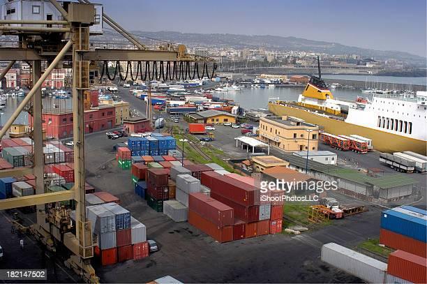 Comercial Puerto de embarque
