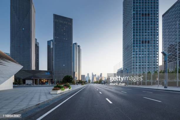 commercial street - liaoning province stock pictures, royalty-free photos & images
