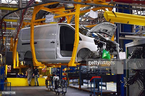 commercial vehicles factory - toyota motor co stock pictures, royalty-free photos & images