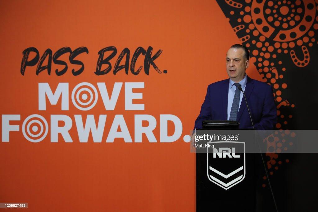 2020 NRL Indigenous Round Media Opportunity : News Photo