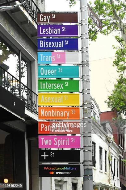 "Commission on Human Rights and Mastercard Host #AcceptanceMatters Panel and Unveil ""Acceptance Street"" During WorldPride 2019 on June 17 2019 in New..."